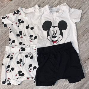 H&M Mickey Mouse outfit bundle